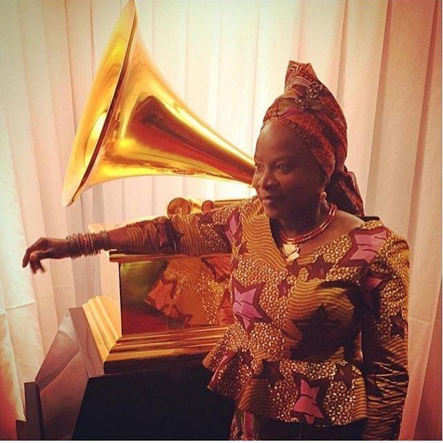 Big Sister @angeliquekidjo has won her 3rd Grammy Award ! Angelique you make us so
