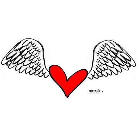 Happy Love Day ! #wingsforall #wingsforlove #drawing by @marcocontisikic